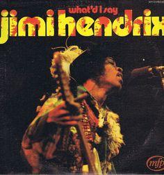 Jimi Hendrix – What'd I Say – LP Vinyl Record