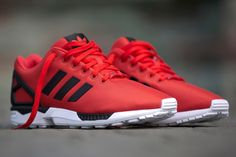 ADIDAS ZX FLUX (POPPY RED) - Sneaker Freaker