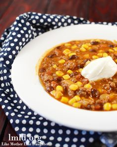 Beef Enchilada Soup | LMLDFood Bring on the soup weather!
