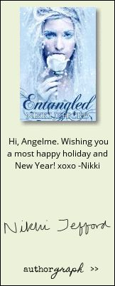 """Authorgraph from Nikki Jefford for """"Entangled"""""""