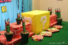 Dennis and Richelle's Super Mario Gender Reveal | CatchMyParty.com