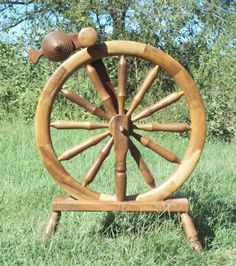 Magnus Drudik Spinning Wheel