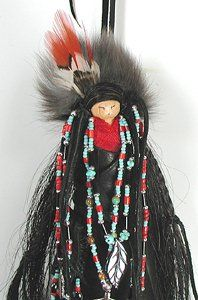 Native American Apache Spirit dolls
