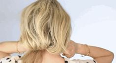 Create a faux bob. | 15 Noncommittal Ways To Change Your Hair