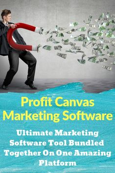 Profit canvas marketing software is a cloud based suite of online marketing software tools for any internet business. The marketing software products included in this bundle will make your online promotion much easier resulting in quicker profits. Take a look at what this can do!   #marketingsoftware  #marketingsoftwaretools #marketingsoftwaresocialmedia #marketingautomation Marketing Automation, Marketing Software, Facebook Marketing, Internet Marketing, Online Marketing, Social Media Marketing, Digital Marketing, Online Advertising, Affiliate Marketing