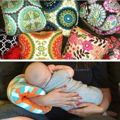 Custom made to order Baby Nursing Pillows. This perfect portable pillow is unlike any other nursing pillow youve used. It brings baby to the
