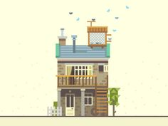 Townhouse - S by Beresnev