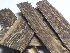 Agarwood - True agarwood also known as aloes wood and oud. Rare and precious, these pieces of agarwood produce a sweet, soft, and warm fragrance when burned on a coal. #agarwood