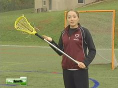 Girls' Lacrosse Basics: How to Hold a Lacrosse Stick