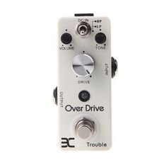 ENO TC-16 Overdrive Guitar Effect Pedal True Bypass