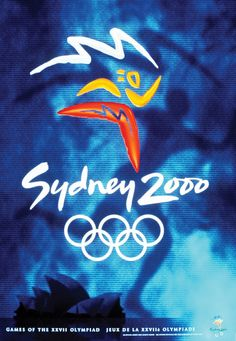 History of Olympics poster design 1996 - 2014 Historical poster's. Olympics poster design in 2000 Olympics, Summer Olympics, Australia Olympics, Sydney Australia, History Of Olympics, Olympic Logo, Winter Games, Winter Sports, Vintage Ads