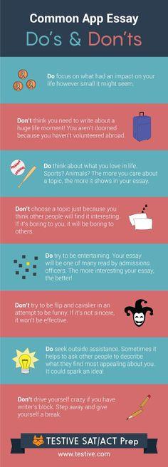 most common college essay topics