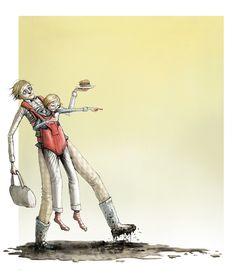 Om tenåringen i DBMagasinet Cool Art, Fun Art, Kids And Parenting, Norway, Science Fiction, Brave, Fantasy Art, Illustrator, Horror