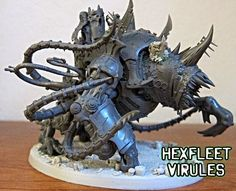 Dark Future Games: It Came From the Forums Quickie: 40k Maggoth Maulerfiend Conversions from Lagrath!