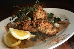 Fried Chicken at Wayfare Tavern, San Francisco. My favorite fried chicken.