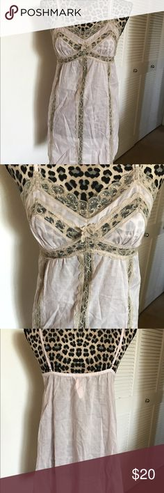Victoria Secret Lingerie New with tag Victoria Secret Lingerie in size Small. Pinkish/tan color Victoria's Secret Intimates & Sleepwear