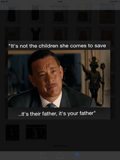 Favourite man saying my favourite quote from my favourite film, Disney's Saving Mr Banks