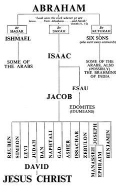 Image detail for lineage from Abraham to Jesus chart