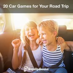 20 Car Games for Your Road Trip. Activities to Pass the Time and Make the Drive with Family and Friends More Enjoyable.