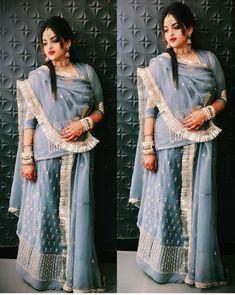 Shivani Rathore 💫 Shadi Dresses, Royal Dresses, Indian Dresses, Wedding Dresses For Girls, Girls Dresses, Bridal Lehenga, Lehenga Choli, Saree, Rajasthani Dress