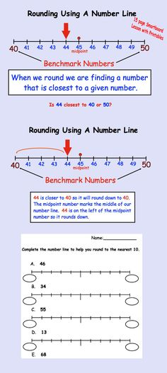 Interactive Smartboard lessons on Rounding plus printable pages.