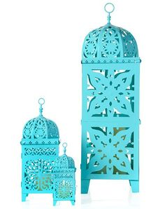 z gallerie - casablanca-lanterns  these are lovely. They sell them in white and bronze in Wilkinson for £18