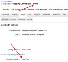 Segmenting Brand From Non-Brand PLAs Confining brand queries to one set of PLAs and non-brand queries to another, to track, analyze and bid them separately, involves three basic components:  Creating at least two separate Google Shopping Campaigns Applying brand terms as negative keywords to one set of Shopping Campaigns Setting the campaign priority higher for the campaign with the brand term negatives