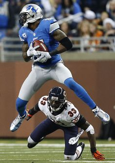 Calvin Johnson - Has a chance to be the greatest ever!!