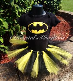 Hey, I found this really awesome Etsy listing at https://www.etsy.com/listing/204690848/batman-tutu-halloween-costume-girls