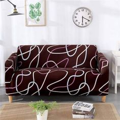 Geometric Loveseats Slipcovers - Sectional Elastic Stretch Sofa Cover for Living Room Couch Cover L shape Armchair Cover Single/Two/Three seat, Color 10 / Sofa Couch, Loveseat Slipcovers, Cushions On Sofa, Throw Pillows, Sofa Cushion Covers, Couch Covers, Plaid Sofa, Corner Sofa Covers, Corner Couch