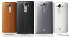 Discover the LG G4 with 8 megapixel front facing camera