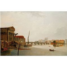 Trademark Art Westminster Bridge Canvas Art by Daniel Turner, Size: 22 x 32, Multicolor