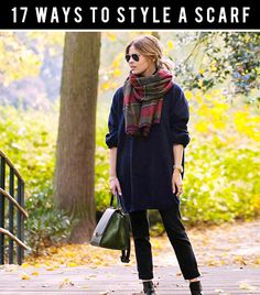 17 Ways to Style a Scarf