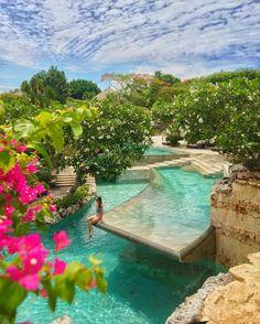 River Pool at Ayana Villa at Ayana Resort Bali