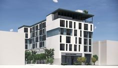 New building permits have been filed for a 54-unit mixed-use building at 451 28th Street in the Pill Hill neighborhood, Oakland. The six-story project... Oakland San Francisco, Building Development, Six Story, Mix Use Building, Construction Cost, Exterior Siding, Rooftop Terrace, Time Photo, Ground Floor