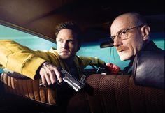 Paul and Cranston are amazing in the AMC original series Breaking Bad.