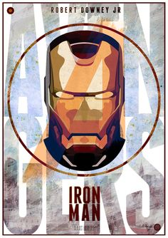 Avengers:Iron Man Print