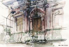 architecture sketch palette - Pesquisa Google