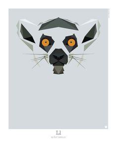 Graphic Art: Animal Alphabet by Mat Mabe Photo