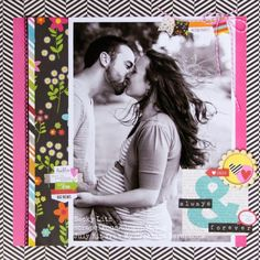 My Creative Scrapbook July Creative kit created by Becky Litz. Baby Scrapbook, Scrapbook Paper Crafts, Scrapbook Pages, Scrapbook Layouts, Scrapbooking Ideas, Image Layout, Scrapbook Designs, Simple Stories, Expecting Baby