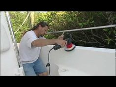 Tips on how to remove oxidation from a fiberglass boat.