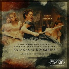 Elizabeth Bennet  - Jane bennet - Lizzie Bennet - Kitty Bennet - Lydia Bennet - Pride and Prejudice and Zombies - Lily James - Ellie Bamber - Bella Heathcote