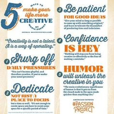 Ways to make your life more creative via Brainpickings.org