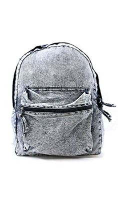 SOHO GLAM Vintage Denim Washed Backpack -- You can get additional details at the image link. (This is an affiliate link) Denim Backpack, Rucksack Bag, Denim Bag, Backpack Bags, Leather Backpack, Fashion Backpack, Vintage Backpacks, Cute Backpacks, School Backpacks