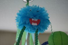 My Little Monster baby shower party