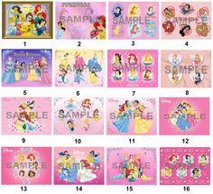 Disney Princess Edible Frosting Sheet Cake Topper 14 Sheet