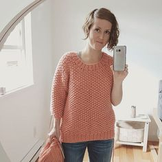 """Jane Richmond on Instagram: """"I have a sleeve! Well, most of a sleeve :) I love how quickly this knits up! And with the collar already completed I feel like I'm in the…"""" Knits, Style Inspiration, Pullover, Knitting, Sleeves, Fabric, Sweaters, Instagram, Color"""