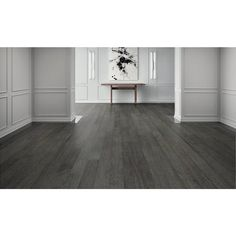 Curtiba Hickory Gray Engineered Hardwood - 1/2in. x 6 1/4in. - 100119502 | Floor and Decor