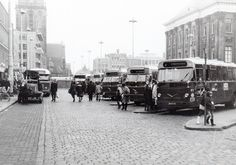 bus Grote Markt binnenstad Groningen