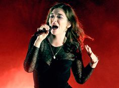 Lorde from The Big Picture: Today's Hot Photos HBD Girl! The singer performs on her 21st birthday during her Melodrama World Tour in Dunedin, New Zealand.